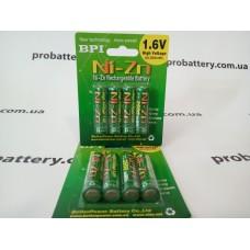 Аккумулятор Ni-Zn BPI  AA 1.6V 2.5Ah