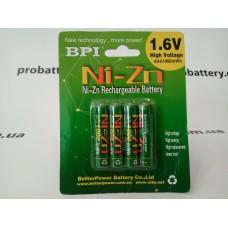Аккумулятор Ni-Zn BPI  AAA 1.6V 1Ah