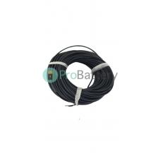 Провод силиконовый 12 AWG чёрный