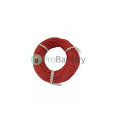 Провод силиконовый 12 AWG красный 1м