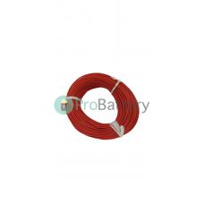 Провод силиконовый 16 AWG красный 1м